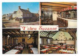 """Cpsm: 50 MONTFARVILLE (ar. Cherbourg) Auberge Normande Rue De La Poste """"T' Cheu Suzanne'  N° 50.1000. M2 - France"""