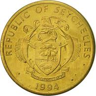 Seychelles, 10 Cents, 1994, British Royal Mint, TTB, Laiton, KM:48.2 - Seychelles