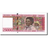 Madagascar, 25,000 Francs = 5000 Ariary, Undated (1998), KM:82, NEUF - Madagaskar