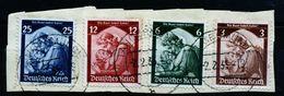 A4775) DR Briefstück Mit Mi.565-568 Used Gestempelt 2.2.35 - Gebraucht