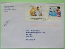 Serbia 2010 Cover Backi Petrovac To Nicaragua - Olympic Games Tennis - Serbia