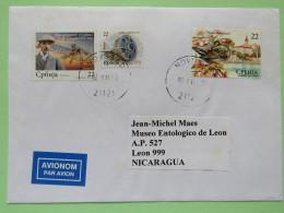 Serbia 2011 Cover Novi Sad To Nicaragua - Bird - Ring - Jewelry - Plane - Serbia