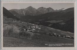 Zarcuns, Camischolas Und Sedrun Gegen Piz Muraun - Photo: Th. Schmid - GR Grisons