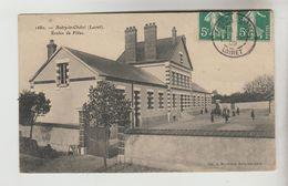 CPA AUTRY LE CHATEL (Loiret) - Ecoles De Filles - Autres Communes