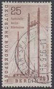 !b!  BERLIN 1956 Mi. 157 USED SINGLE (e) - German Industrial Exhibition - [5] Berlin