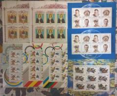 Russia 1991 8 Minifogli/Minisheet **/MNH VF - Blocchi & Fogli