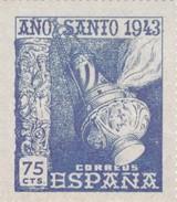 Espana  : Ano Santo Compostelano : Tarjetas Postales Con Copia Del Sellos /  7 Tarjetas / ( 15 X 13 ) Y (  11 X 19 ) Cm - Sin Clasificación