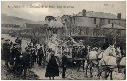 71 LE CREUSOT - Cavalcade Du 22 Mars - Char Des Reines   (Recto/Verso) - Le Creusot
