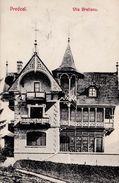 PREDEAL - ROUMANIE / ROMANIA : VILA BRATIANU ~ 1905 - '06 (w-596) - Roumanie