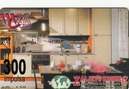 MONTENEGRO - Zaljevo Komerc, Aragasa Bar, Tirage 30000, 06/01, Sample No Chip And No CN - Montenegro