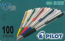 MONTENEGRO - Pilot Pens, SUN Ice Cream, Tirage 50000, 06/01, Sample No Chip And No CN - Montenegro