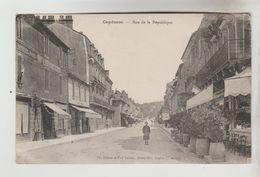 CPA CAPDENAC (Lot) - Rue De La République - France