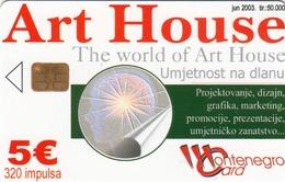 MONTENEGRO - Art House, Tirage 50000, 06/03, Sample No CN - Montenegro