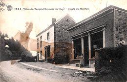 Villers-le-Temple - Route De Manhay (animée, Peu Vue....tache) - Nandrin