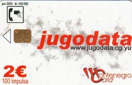 MONTENEGRO - Jugodata/Compaq, Tirage 150000, 06/03, Sample No CN - Montenegro