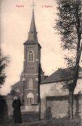 Tignée - L'Eglise (animée, Curé) - Soumagne