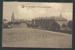 +++ CPA - OVERPELT - Retraitenhuis En Kerk  // - Overpelt