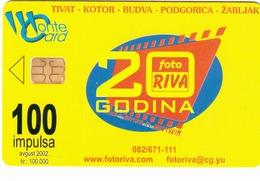 MONTENEGRO - Foto Riva, Jugodata/Hewlett Packard, Tirage 100000, 08/02, Sample No CN - Montenegro