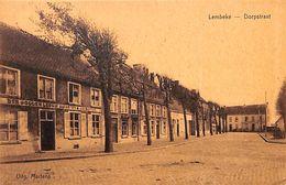 Lembeke - Dorpstraat (Den Gouden Leeux, Café, Uitg. Martens) - Kaprijke