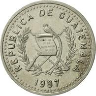 Guatemala, 25 Centavos, 1997, TTB, Copper-nickel, KM:278.5 - Guatemala