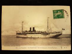 "CPA Paquebot ""la Guadeloupe"" - Dampfer"