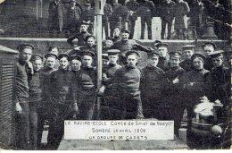 Le Navire Ecole Comte De Smet De Naeyer Sombre En 1906 Cadets  Mauvais état !! - Bateaux