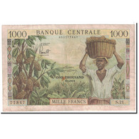 Cameroun, 1000 Francs, 1962, KM:12b, TB+ - Cameroun
