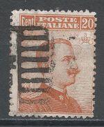 Italy 1917. Scott #113 (U) King Victor Emmanuel III - Afgestempeld