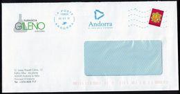 Andorre Enveloppe Farmàcia Galeno Andorra El Pais Dels Pirineus SU - Frans-Andorra