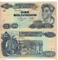 BOLIVIA   10 Bolivianos  Serie  F       (P223    2001 ) UNC - Bolivia