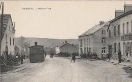 Joubieval   Arret Du Tram Circulé En 1923 - Vielsalm