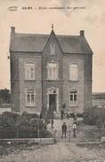 Halma  Ecole Communale Des Garçons  Animée Circulé En 1919 - Wellin