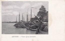 CPA Anvers - Vieux Quai Jordaens (29917) - Antwerpen