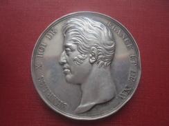 Médaille. Charles X. Ecole De Dessin De Marseille. 1828 - Francia
