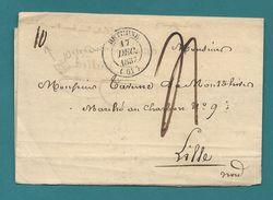 Pas De Calais - Collection Sur BETHUNE. 11 Documents Avec Taxation Diverses - Marcophilie (Lettres)