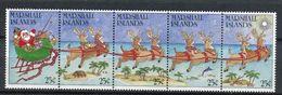 Marshall Islands 1988. Yvert  207-11 ** MNH. - Marshall