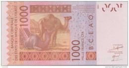 WEST AFRICAN STATES P. 715Kh 1000 F 2009 UNC - Sénégal
