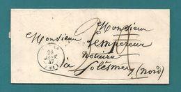 Pas De Calais - Collection Sur ARRAS. Différentes Taxes : 2 Puis 3/ 5/ 8/9/10/30 Et Port Payé 8 Documents - Marcophilie (Lettres)