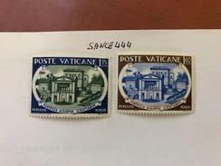 Vatican City Scientific Academy Mnh 1957 - Unused Stamps