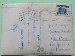 "Poland 1959 Postcard """"Gryfow Slaski - Church"""" San Slask To Bzevrod - St. Mary Church - 1944-.... Republic"