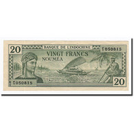 Nouvelle-Calédonie, 20 Francs, Undated (1944), KM:49, TTB - Nouméa (New Caledonia 1873-1985)