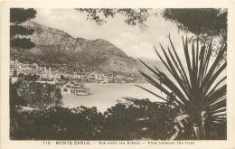 MONTE CARLO - Vue Entre Les Arbres - Monte-Carlo