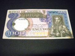 ANGOLA 1000 Escudos 10/06/1973 , Pick N° 108 , ANGOLA - Angola