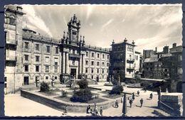 1958 , GALICIA , CORUÑA  - SANTIAGO DE COMPOSTELA , SEMINARIO DE SAN MARTÍN PINARIO , CIRCULADA - Santiago De Compostela