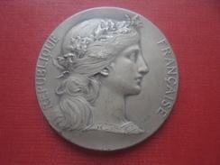 Médaille. République Française.Société Républicaines Des Conférences Populaires. 1927. - Professionali / Di Società