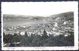 1953 , GALICIA , PONTEVEDRA , VIGO  - VISTA PARCIAL , CIRCULADA - Pontevedra