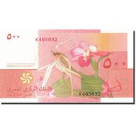 Comoros, 500 Francs, 2005-2006, KM:15, 2006, NEUF - Comores