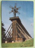 "Poland 1990 Postcard """"Ciechocinek"""" To England - Man Head - Revenue Stamp For School Construction - Poland"