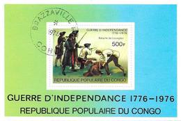 République Du CONGO - 1976 - Bloc N° 10 - Guerre D'indépendance - Oblitéré - Congo - Brazzaville