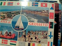 2 CARD  MARINA DI GROSSETO  VB1984 GG16116 - Grosseto